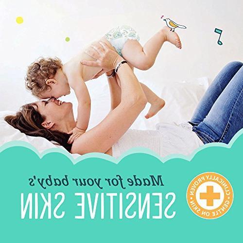 Seventh Generation Clear Sensitive Skin Newborn Baby Diapers Animal Prints