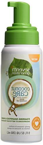 coconut care foaming shampoo wash