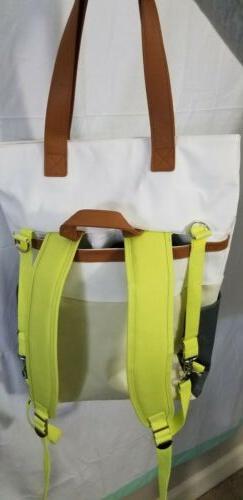 Color Block Backpack Diaper Bag Cloud Island New Convertible