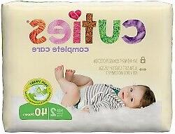 Cuties Complete Care Baby Diaper Size 2 12 to 18 lbs. CCC02