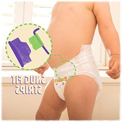 Cuties Care Diapers, 7, Count