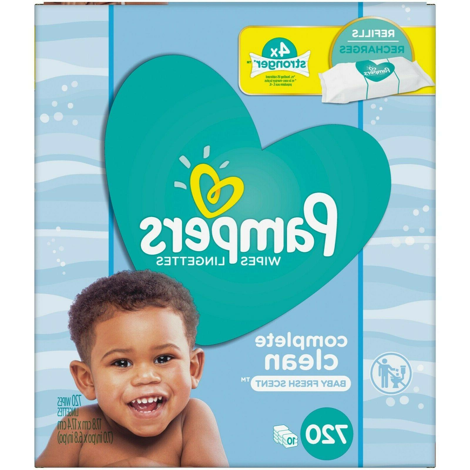complete clean baby fresh scent baby wipes