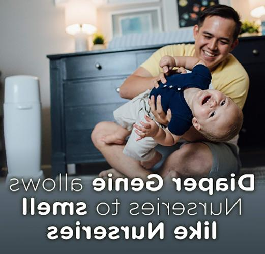 Diaper Genie Diaper Pail, Fully Odor Technology