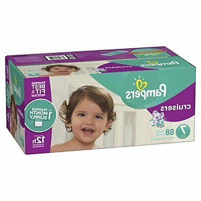 cruisers disposable baby diapers size 7 88