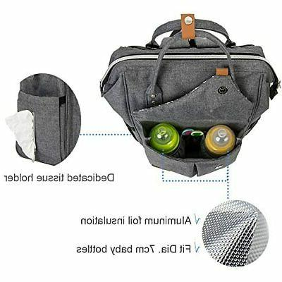Lekebaby Diaper Bag for with Arrow Print