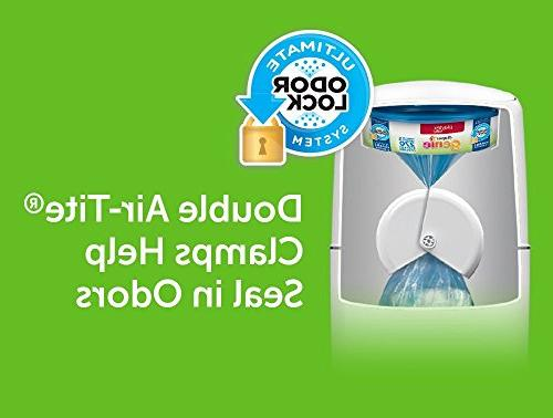 Playtex Genie Registry Gift with 1 Diaper Diaper Pail, Genie Refills Diaper Genie Carbon Filters for Odor