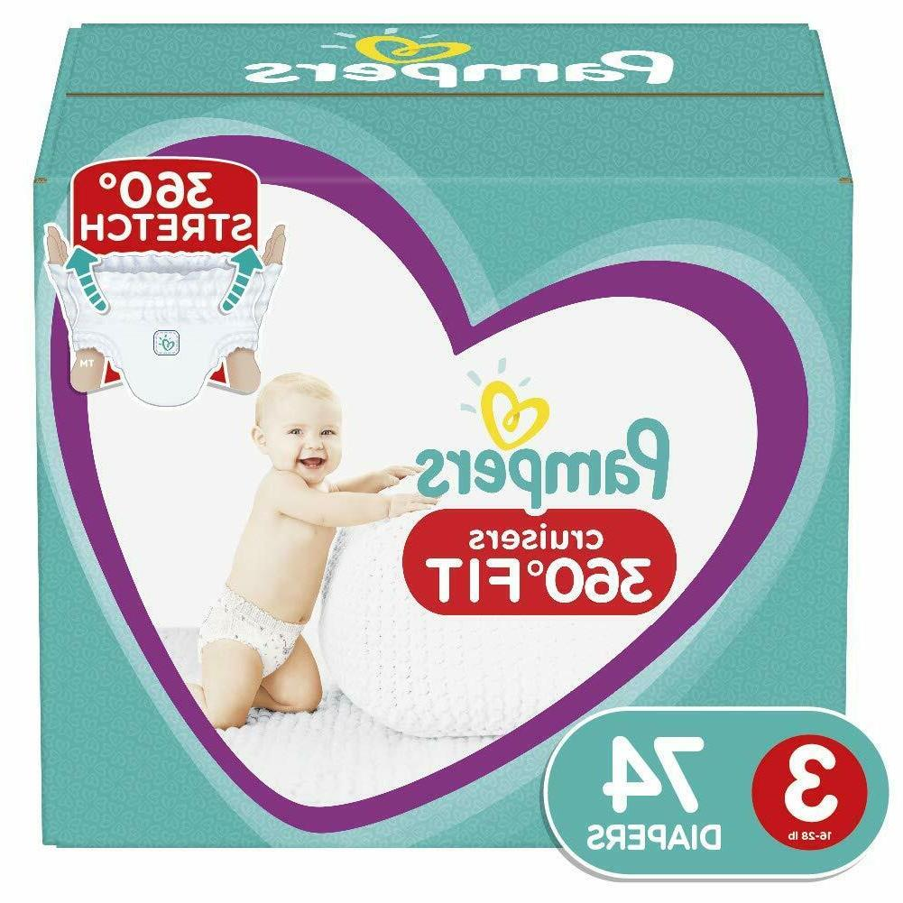 diapers size 3 74 count pull on