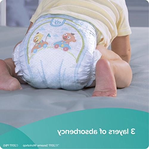 Pampers Baby Disposable Baby Size 5,164 Count, ONE