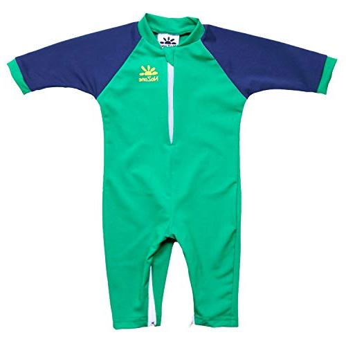 fiji sun protective baby boy swimsuit in