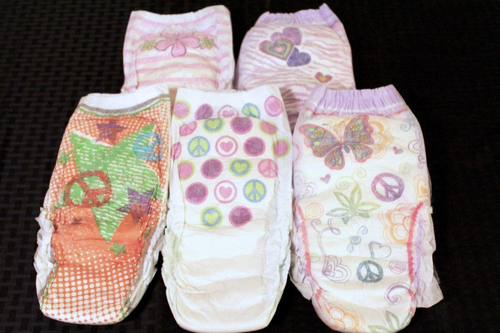 Goodnites Girls Bedtime Diapers size XL-XXL fits 120-250 lbs Fits plus size kids