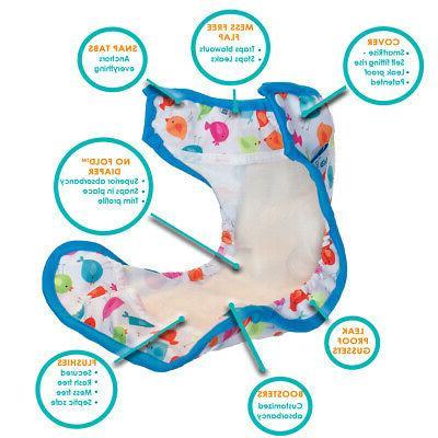 Tidy Diapers Free Diaper Set