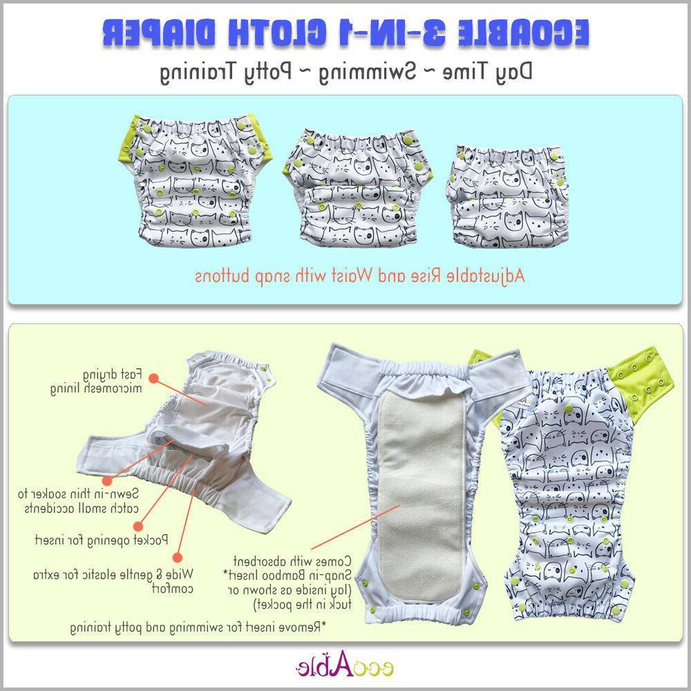 Hybrid Swim Diaper Potty Baby to Years