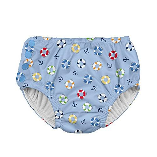i play snap reusable absorbent swimsuit diaper