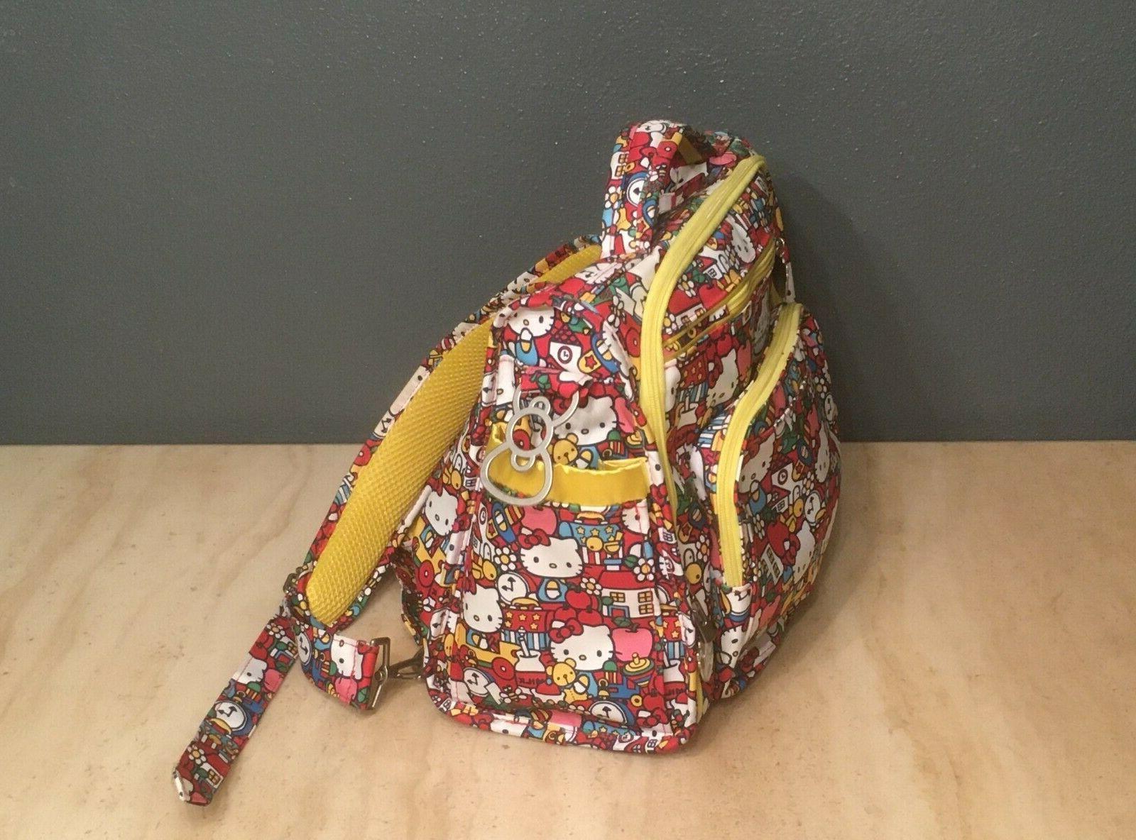 Ju-Ju-Be Kitty Be Neat Tick Tock Diaper Duffle Bag