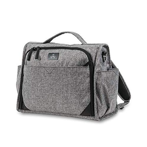 JuJuBe Edition Classical Convertible Diaper Bag - Graphite