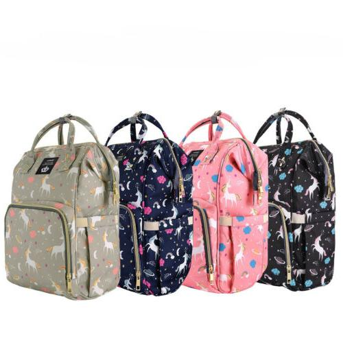 LEQUEEN Mummy Diaper Bag Backpack Maternity Nappy Baby Bags+