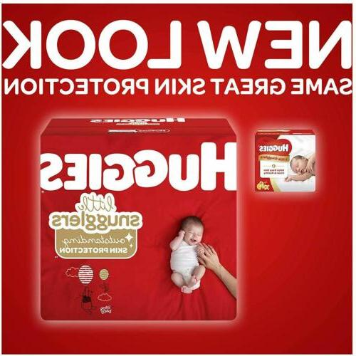 HUGGIES Little Snugglers Baby Diapers 40639 Newborn 0-10 LB