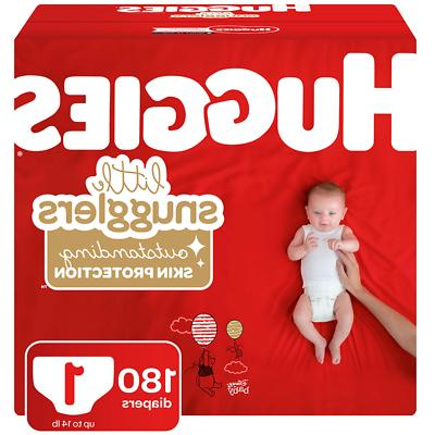 little snugglers diapers size 1 180 count