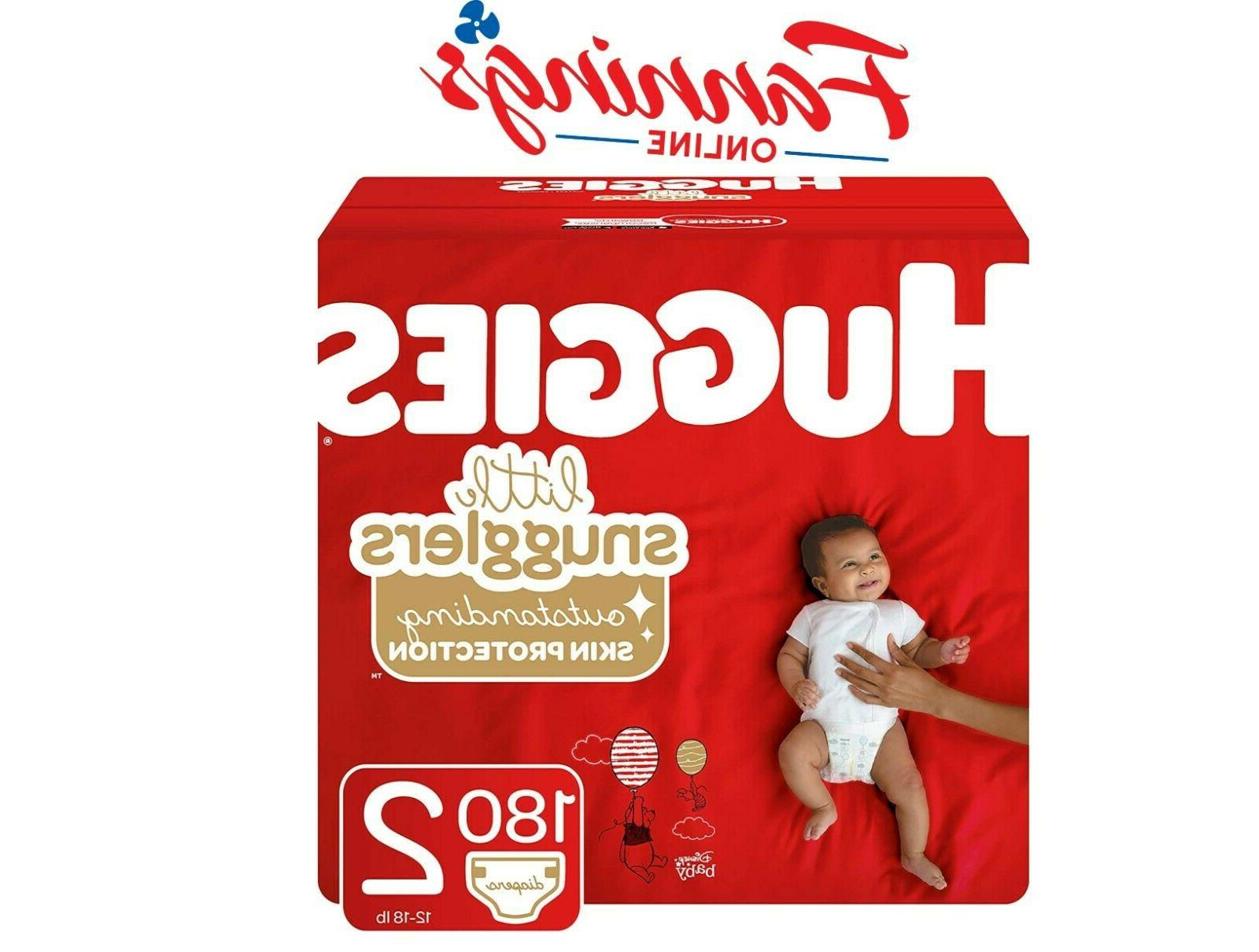 little snugglers size 2 baby diapers premium