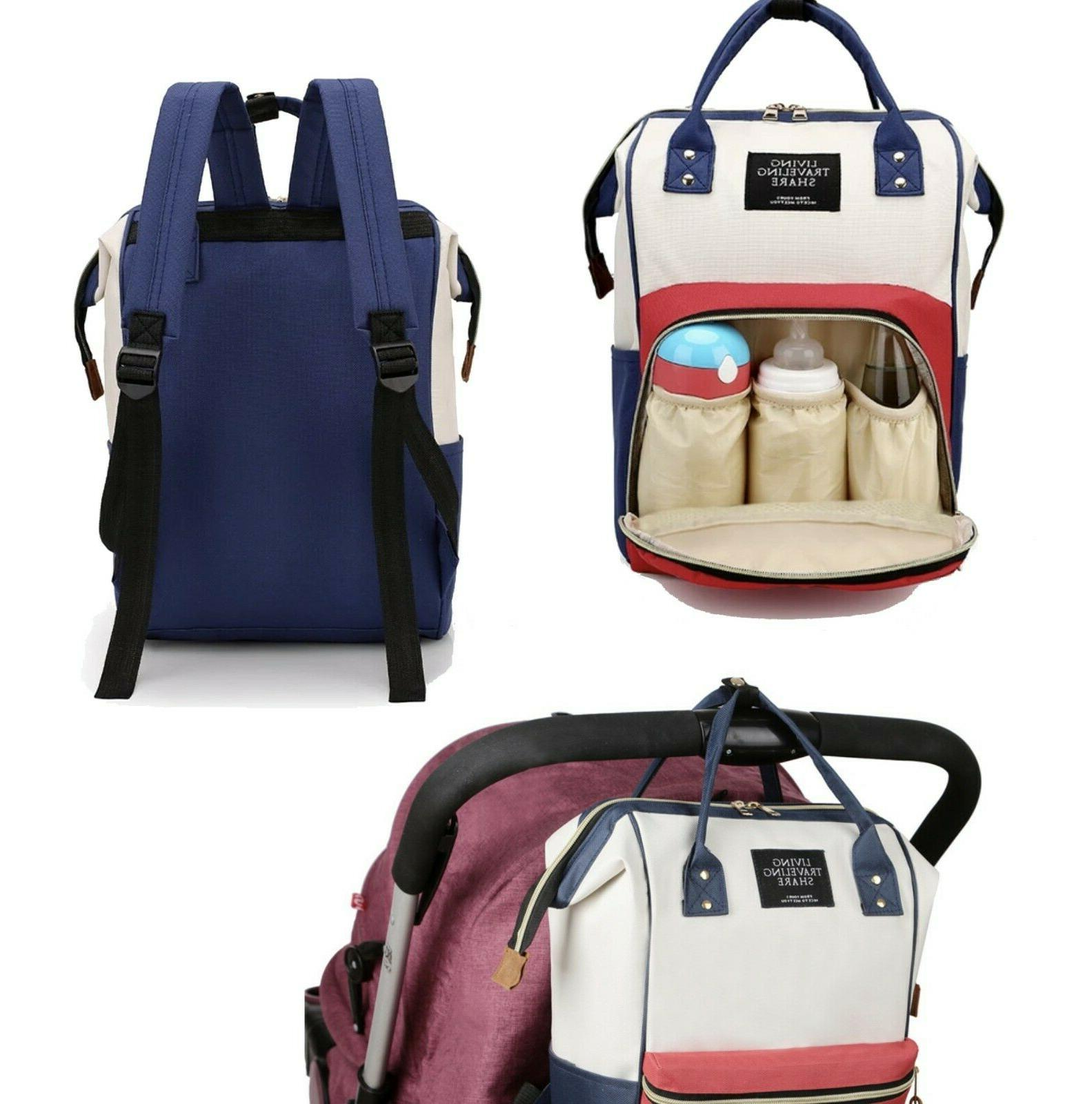 Living Traveling Share Diaper Bag Backpack Nappy