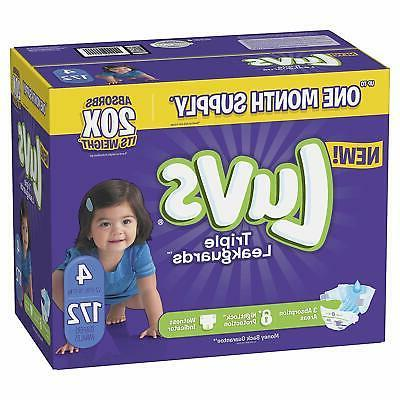 Luvs Ultra Baby Diapers, 5, 148 Count, SUPP