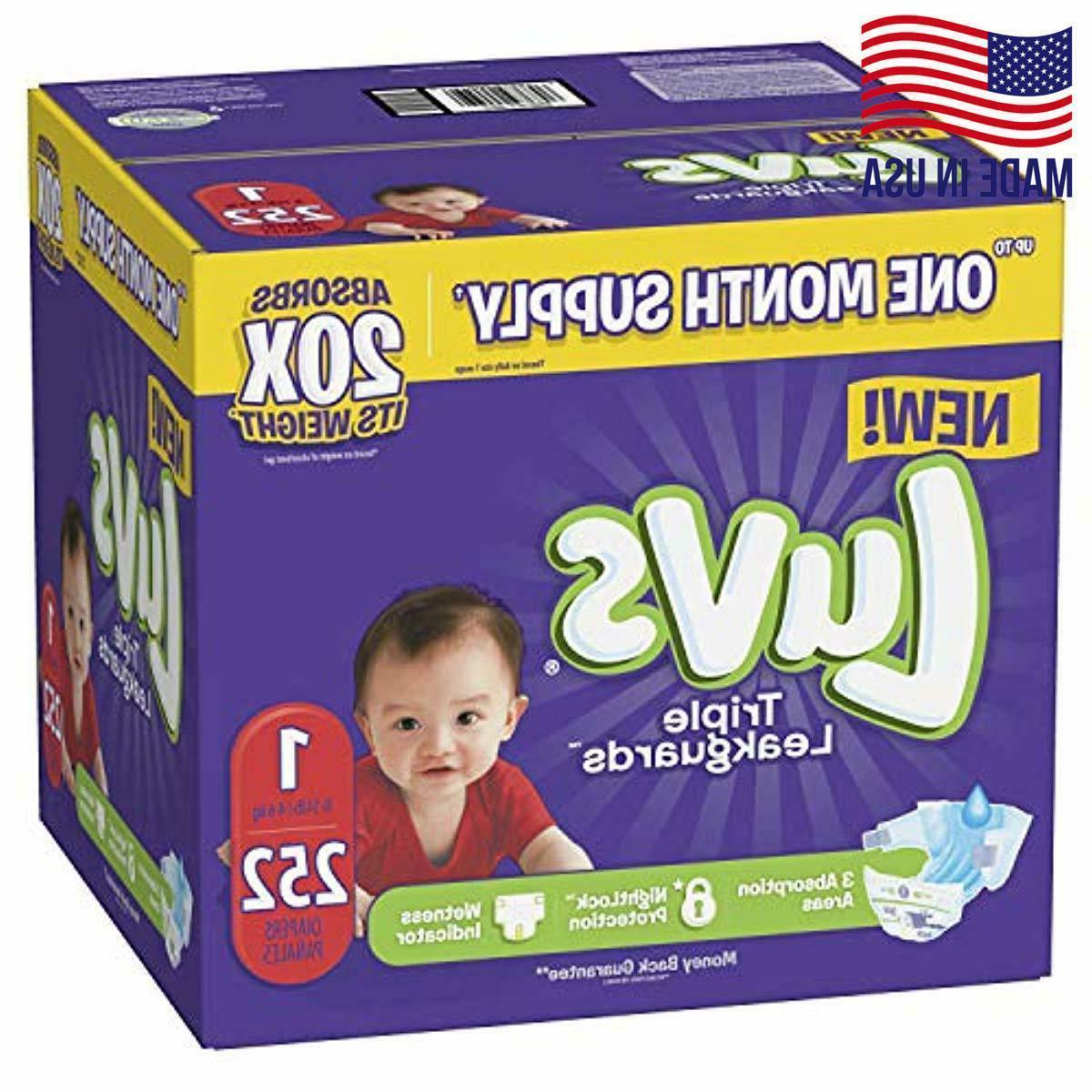 luvs ultra leakguards disposable diapers newborn size