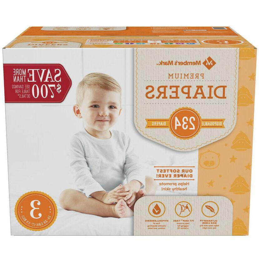Baby Diapers Newborn to 6