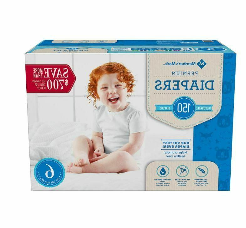 Member's Baby Diapers Newborn Size Size 2 Size 234