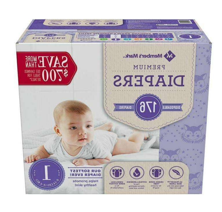 Diapers Newborn Size 2 Size 234 count