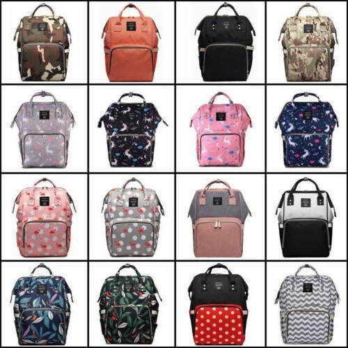 multifunctional baby diaper nappy mummy backpack waterproof