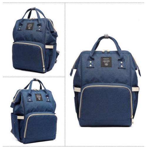 LEQUEEN Nappy Diaper Baby Backpack