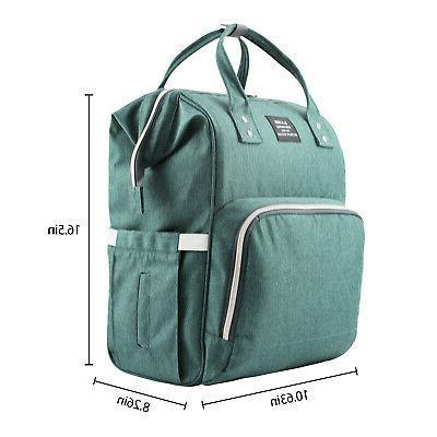 LAND Mummy Diaper Backpack + Stroller