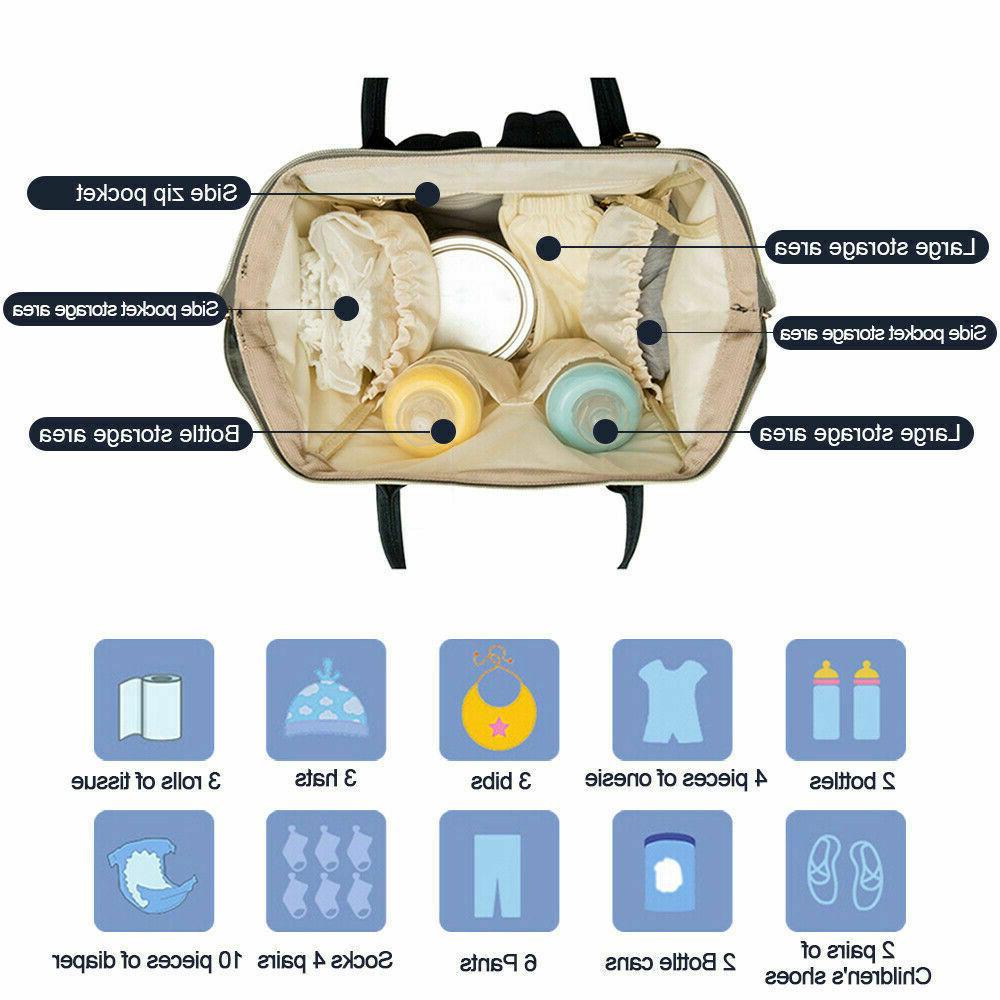 Nappy Bag Maternity Large Shoulder Backpack