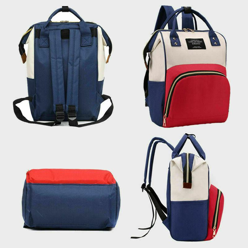 Nappy Maternity Shoulder Backpack Handbag