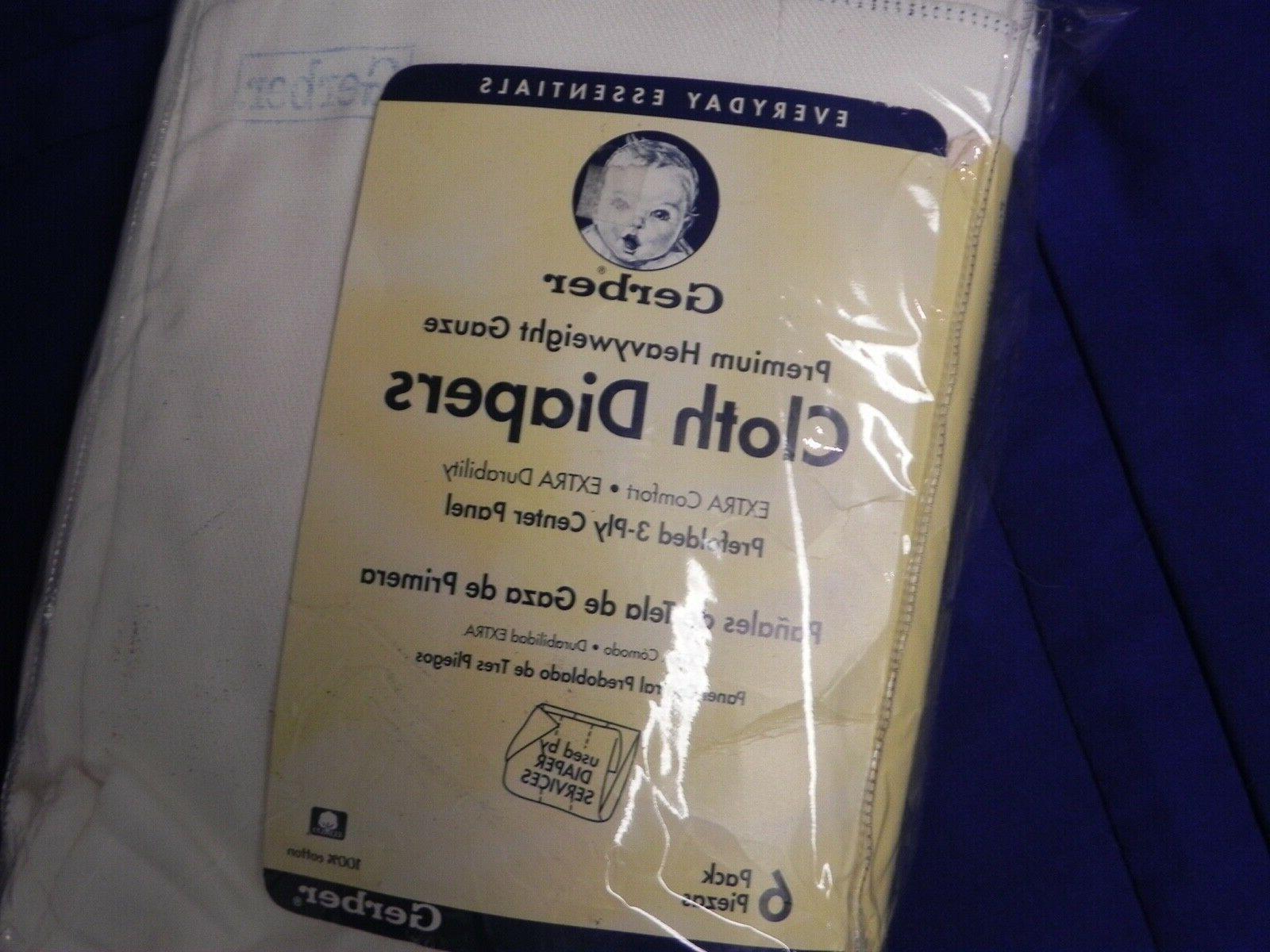 new 6 pack premium heavyweight gauze cloth