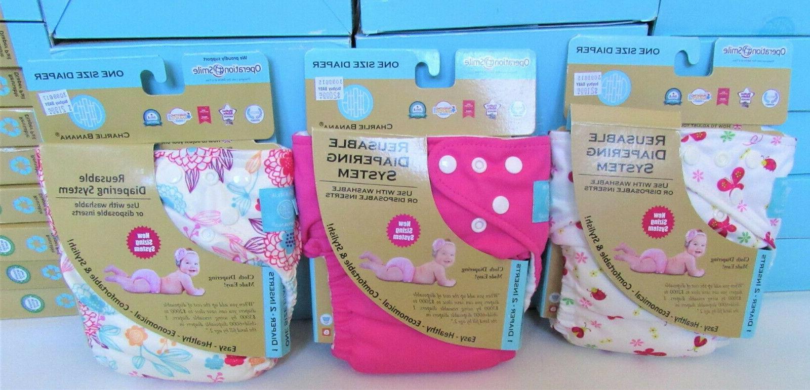 new organic adjustable cloth diaper lot girl