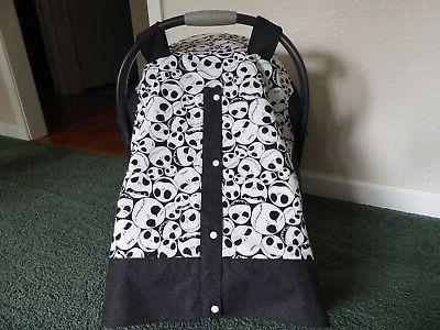 **NIGHTMARE BEFORE CHRISTMAS**w/Jack Seat Canopy & bag/tote
