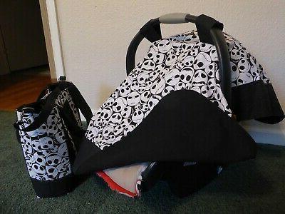 **NIGHTMARE BEFORE Seat Diaper bag/tote