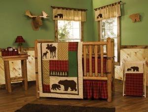 northwoods complete crib bedding set