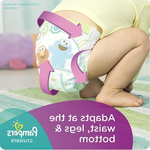 Pampers Cruisers Size Diapers Economy -