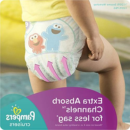 Pampers Cruisers Size Diapers Pack - 104 Count -