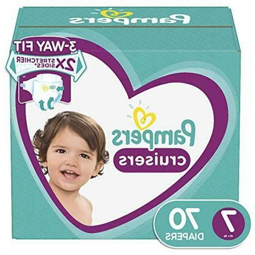 pampers cruisers diapers size 7 70 count