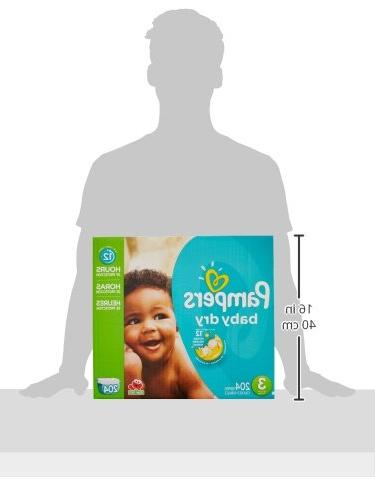Pampers Dry 3 Diapers Economy -