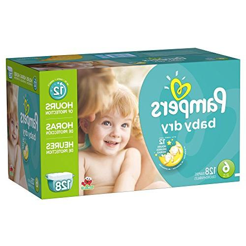 Pampers Dry 6 Pack - -