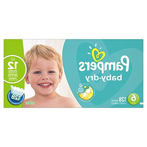 pampers dry 6 diapers economy