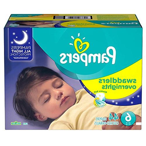 pampers swaddlers overnights diapers sesame