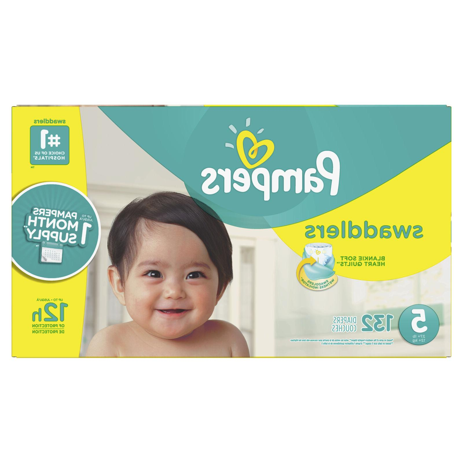 Pampers and Absorbent 132 Ct
