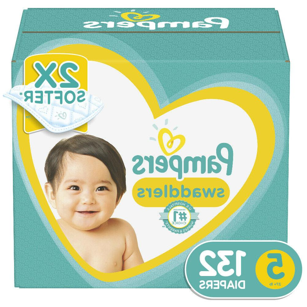 pampers swaddlers soft and absorbent diapers size