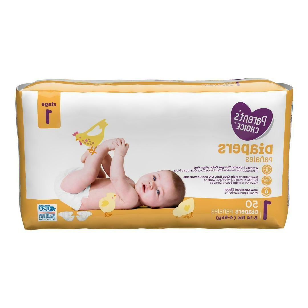 Parent's Choice Diapers *newborn, 4, 5, *Choose Count