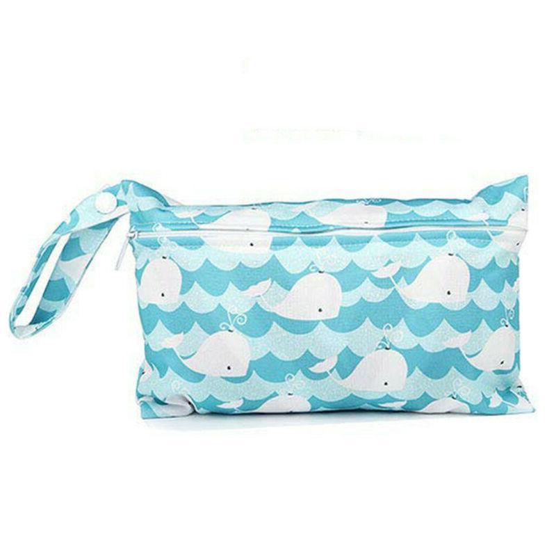 portable reusable eco friendly wet wipe pouch
